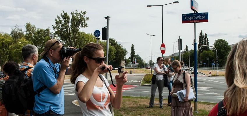 Fotospacery.pl z Samsungiem na spacerze po warszawskich Bielanach
